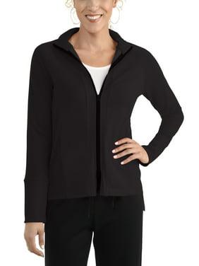 Seek No Further Women's Long Sleeve Full Zip Raglan Track Jacket