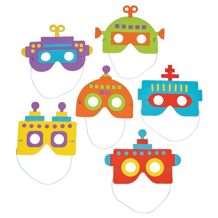 Robot Mask Craft Kit By Fun - Robot Mask