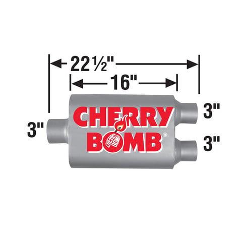 Cherry Bomb 88110 Vortex Muffler
