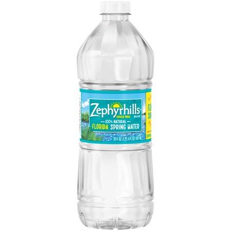 Zephyrhills Natural Spring Water 20 Fl Oz Plastic Bottle