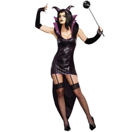 Queen Of Darkness Costume 9475 by Dreamgirl Black](Phantom Of Darkness Costume)