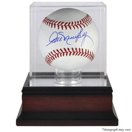 Braves Autograph (Dale Murphy Atlanta Braves Fanatics Authentic Autographed Baseball and Mahogany Baseball Display Case - No)