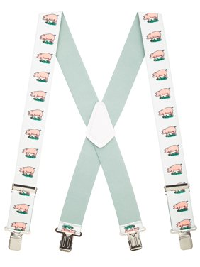 e28bfdd8510 Product Image Suspender Store Pig Clip-End Novelty Suspenders - 2 Inch Wide  (3 Sizes)