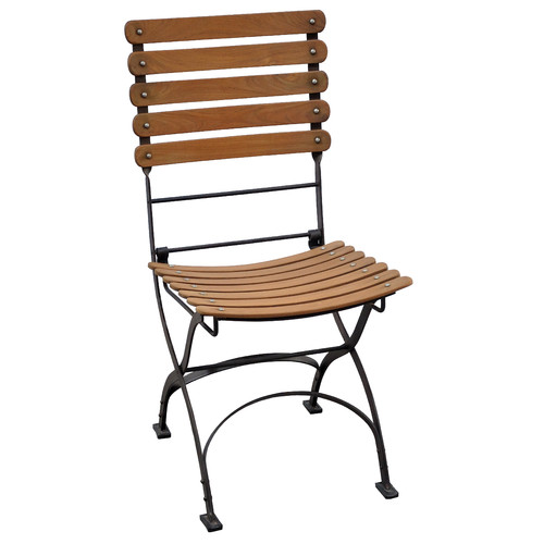 Casual Elements Toscana Folding Teak Patio Dining Chair