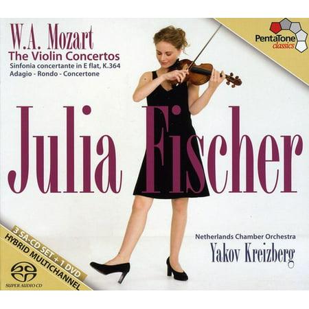 W. A. Mozart: The Violin Concertos