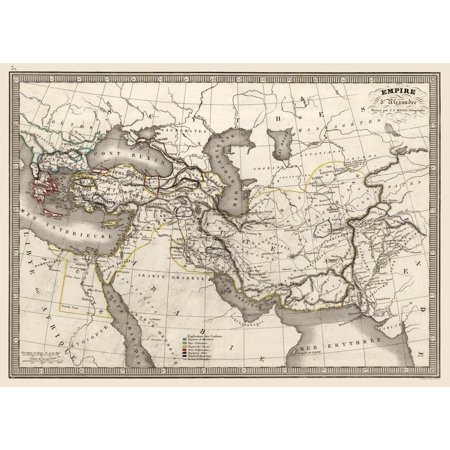 International Map - Alexander the Great's Empire - Monin - 1839 - 31.89 on after alexander the great empire, ancient greece, ancient egypt, napoleon bonaparte, map of augustus caesar empire, map of rivers of the world, breakup of alexander's empire, map of land conquered by alexander the great, battle map alexander the great empire, map of bactrian empire, map of napoleon's empire, peloponnesian war, map ancient greece alexander the great, map of seleucus empire, cleopatra vii of egypt, map alexander great expansion map, extent of alexander's empire, byzantine empire, blank map of alexander's empire, map of magadha empire, how big was alexander's empire, map of the greek empire, philip ii of macedon, roman empire, map of pyramids around the world, julius caesar, cyrus the great, map of phoenician empire, map of the muslim empire, alex the great empire,