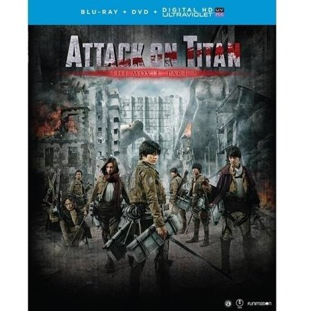 Attack On Titan  The Movie  Part 2  Blu Ray   Dvd   Digital Hd   Widescreen