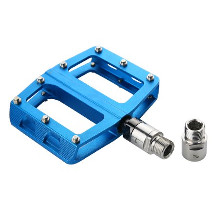 Lixada Left Right Bike Pedal Extenders 9/16 Inch Pedal Adapters Spacers