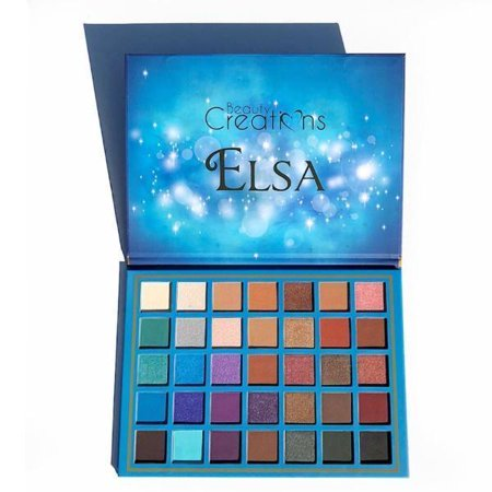 Creations Color ((3 Pack) BEAUTY CREATIONS 35 Color Eyeshadow Palette - Elsa)