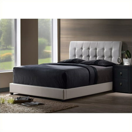 Hillsdale Lusso Bed in White-Full - image 1 of 1