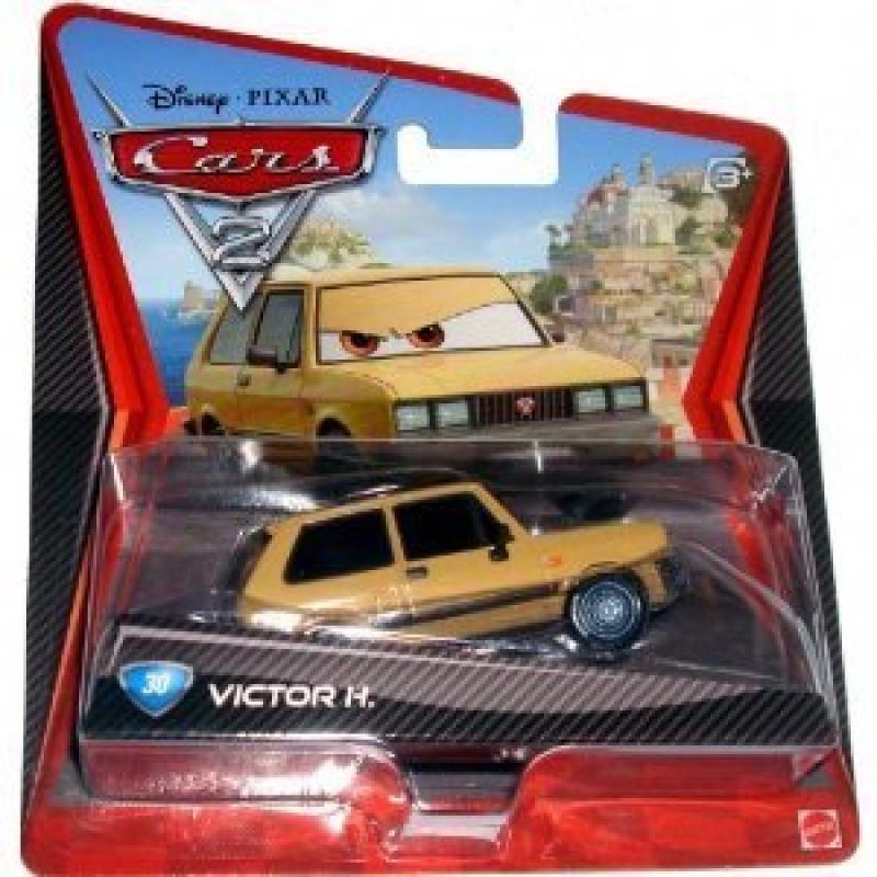 Disney Pixar CARS 1:55 Scale Die Cast Car #30 Victor H. Mattel by