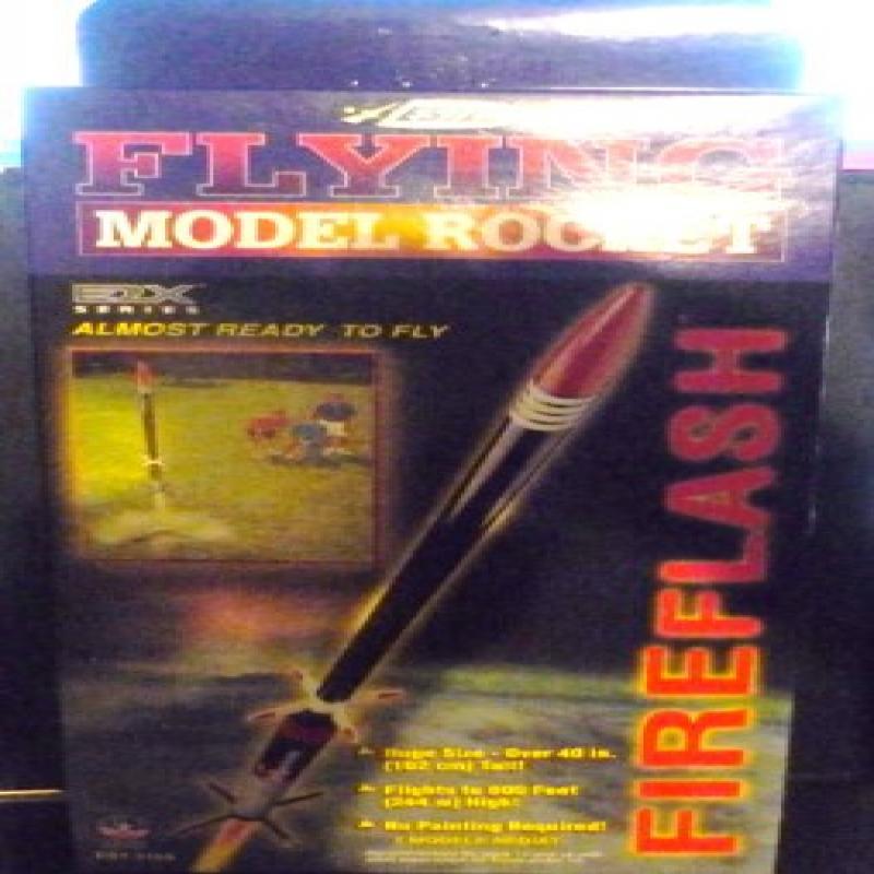 #2159 Estes E2X Series Fireflash Model Rocket Kit,Needs Assembly by