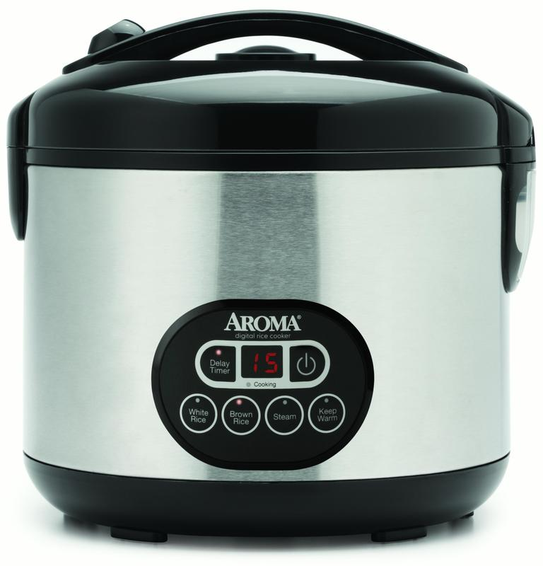 AROMA Professional Rice Cooker & Food Steamer