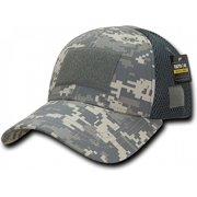 RapDom Low Crown Mesh Tactical Operator Cap [ACU Digital - Adjustable]