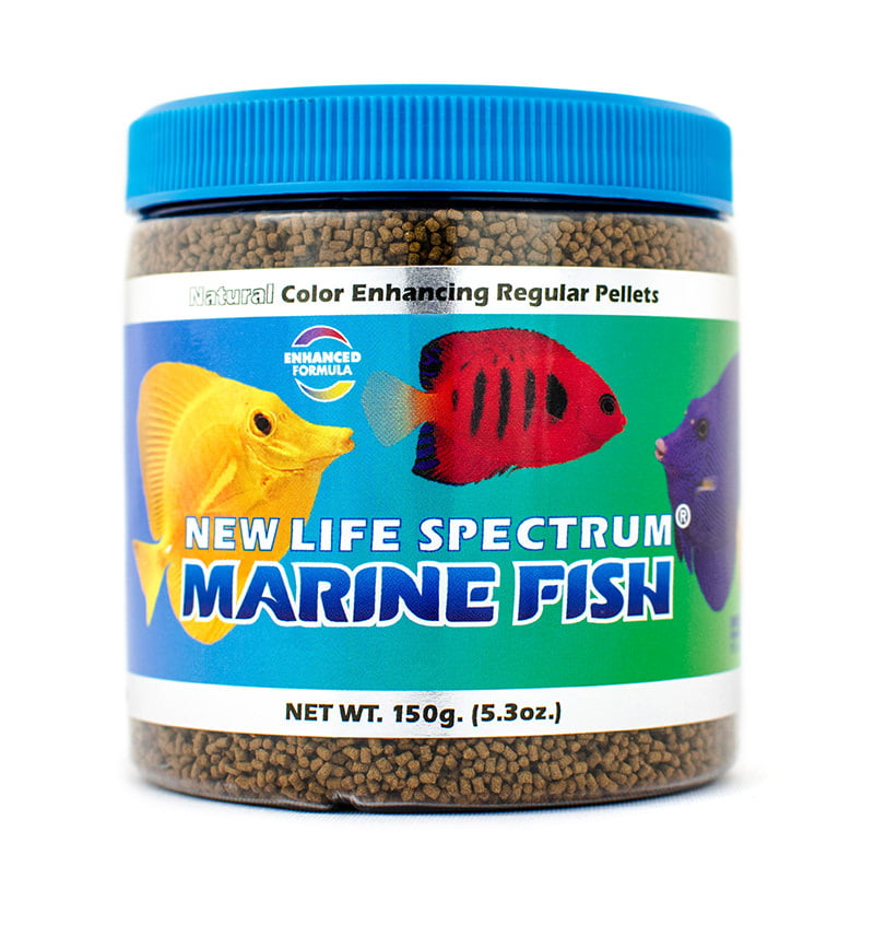 New Life Spectrum Marine Fish Food Pellets, 150 g by New Life International