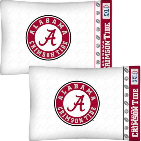 Store51 Llc 12441330 Ncaa Alabama Crimson Tide Football Set Of Two Pillowcases