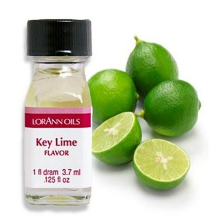 Lime Flavor Oil (Key Lime Flavor - 2 Dram Pack - LorAnn Oils - Includes a Recipe Card)