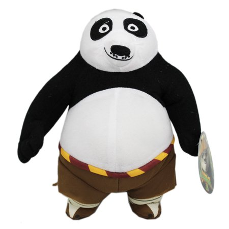 Kung Fu Panda 3 Po Panda Shorts w/No Shirt Kids Plush Toy (9in)