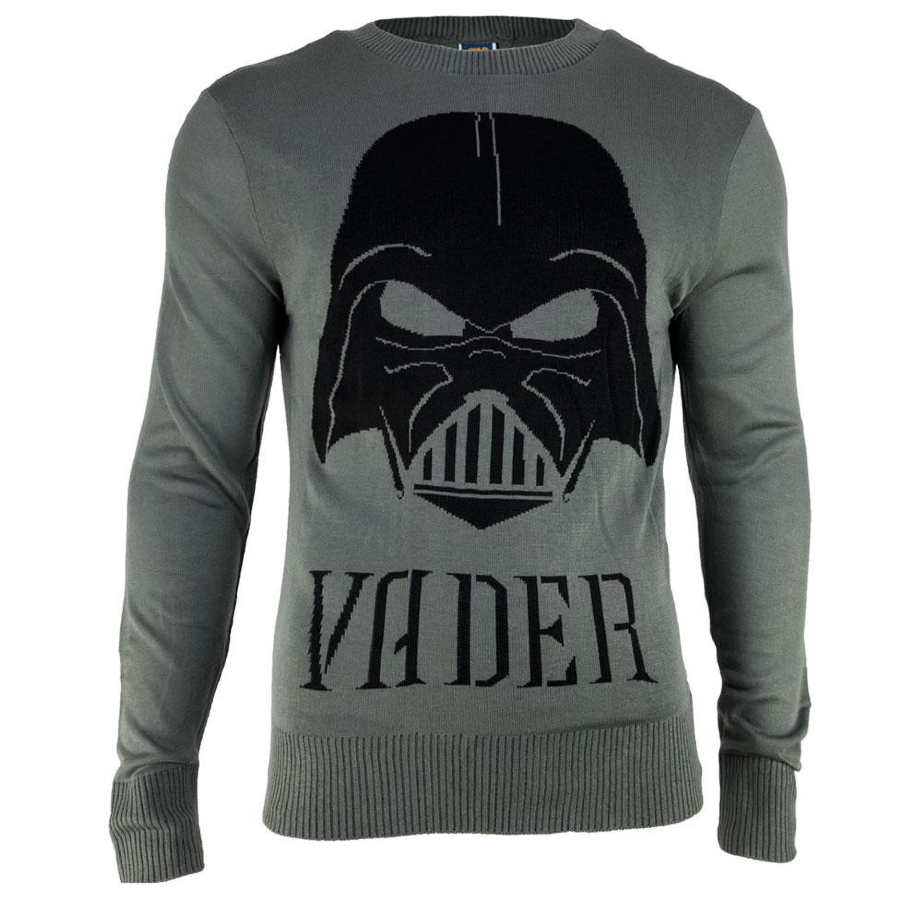 Darth Vader Knitted Sweater