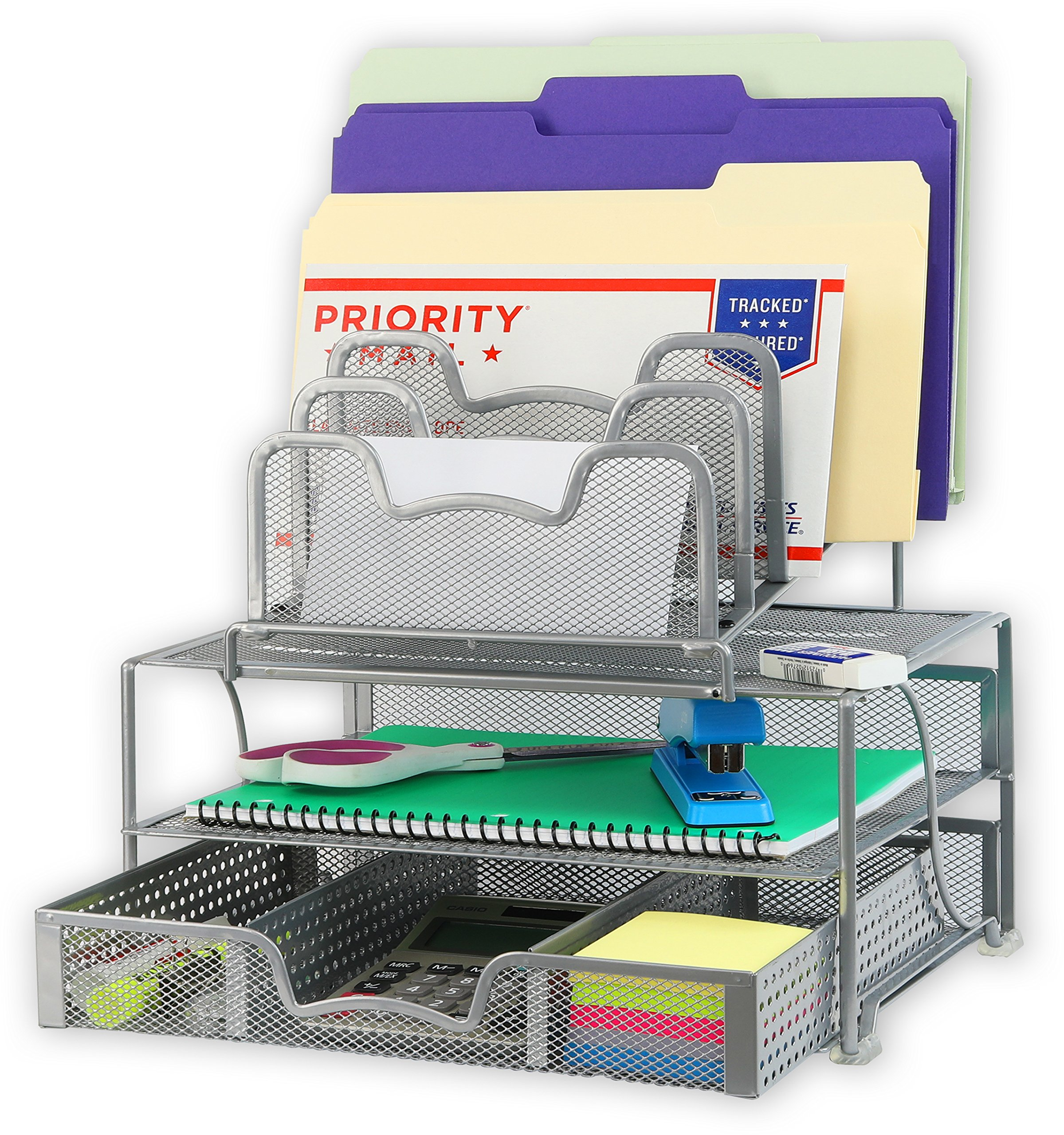 Desk Accessories & Workspace Organizers EasyPAG Mesh Desk