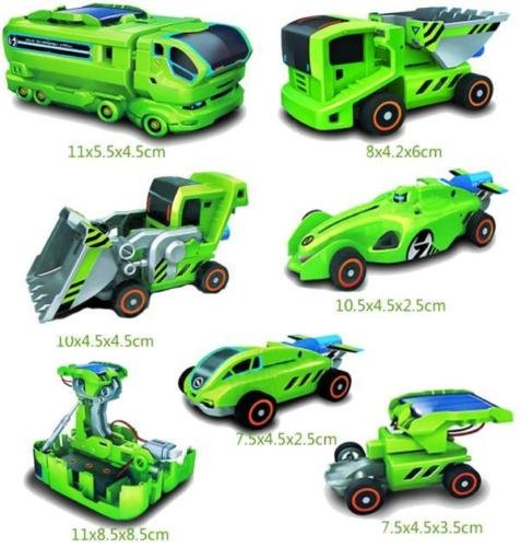 Marketworldcup DIY Assemble 7 In 1 Educational Solar Robot Drilling Machine Dinosaur Insect Kit by