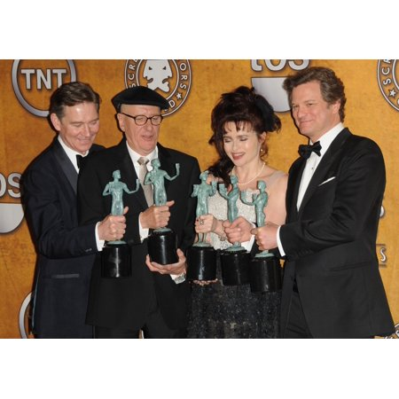 Anthony Andrews Geoffrey Rush Helena Bonham Carter Colin Firth In The Press Room For 17Th Annual Screen Actors Guild Sag Awards - Press Room Shrine Auditorium Los Angeles Ca January 30 2011 Photo By D - Helena Bonham Carter Halloween