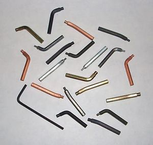 Lisle 49460 Replacement Snap Ring Pliers Tips Set