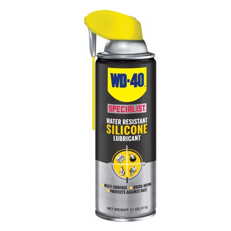 WD40 Company 300012 11 Oz Specialist Silicone Spray Smart Straw