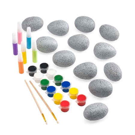 Easter Arts And Crafts (Color Pops Paint-Your-Own Rocks Arts and Crafts Kit for Kids, Easter)