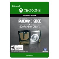 Xbox One Tom Clancy's Rainbow Six Siege Currency pack 1200 Rainbow credits (email delivery)