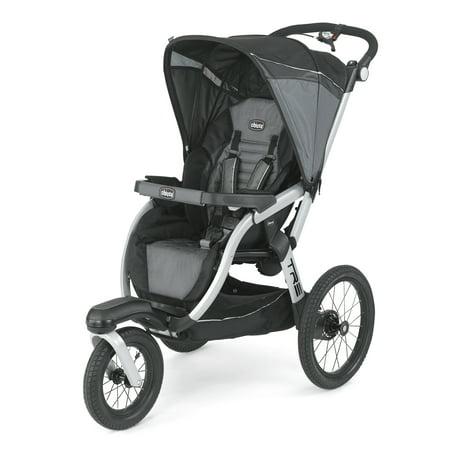 - Chicco TRE KeyFit Fit2 Compatible Lightweight Infant Jogging Stroller, Titan