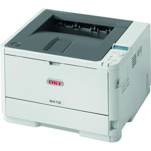 Oki B412dn Wireless Monochrome LED Printer