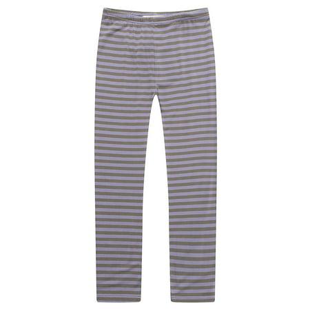 Orange And Black Striped Leggings (Richie House Girls' Basic Leggings with Many Colors)