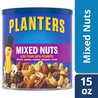 Planters Mixed Nuts, Lightly Salted, 15.0 oz Canister