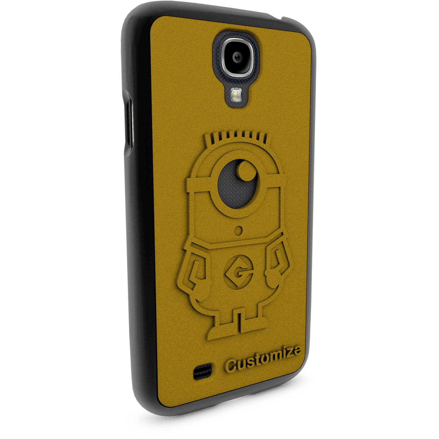 Samsung Galaxy S4 3D Printed Custom Phone Case - Despicable Me - Carl