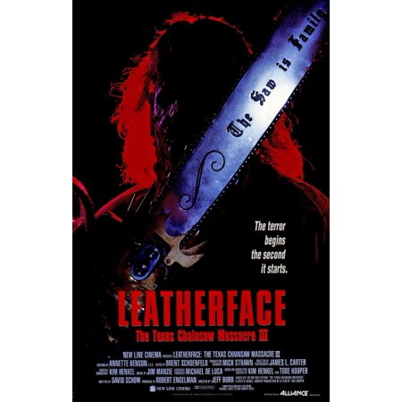 Leatherface: The Texas Chainsaw Massacre 3 (1989) 11x17 Movie - Texas Chainsaw Massacre Props For Sale