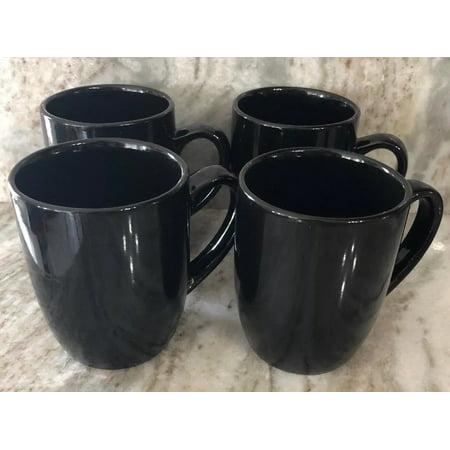 Black Norfolk Rare Stoneware 24h Mugs Dinnerware 4 Ship Royal Of Coffee Cups Set dCtrshQ