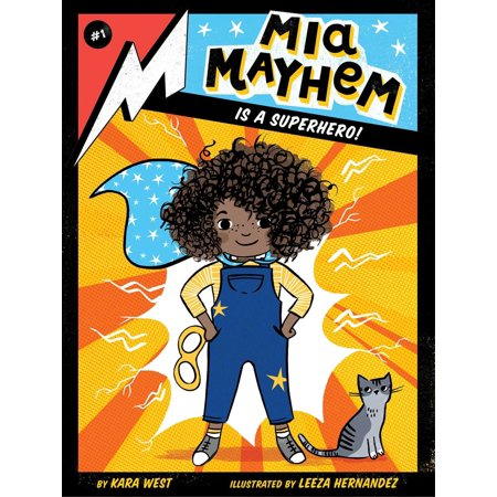 Mia Mayhem Is a Superhero! - eBook - This Is Halloween Sonic Mix