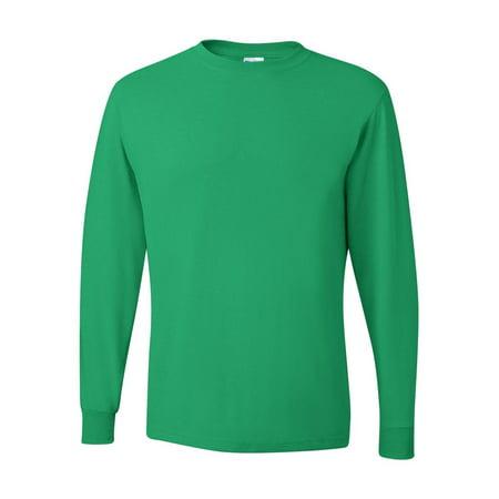 f1aee933 JERZEES - Jerzees Adult 5.6 oz. DRI-POWER® ACTIVE Long-Sleeve T-Shirt -  Walmart.com