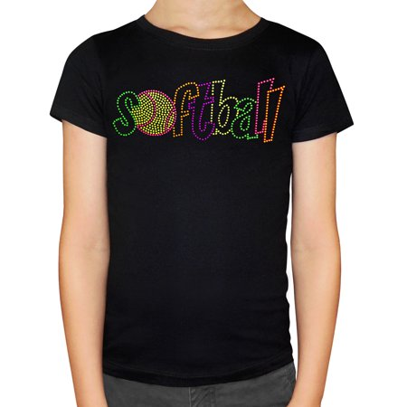 Zone Apparel Girl's Youth Softball Stud T-Shirt