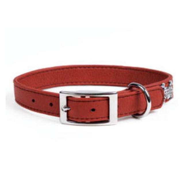 Rockinft Doggie Leather Collar Plain