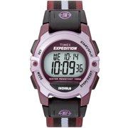 Unisex Expedition Digital CAT Mid-Size Watch, Purple Stripe Nylon Strap