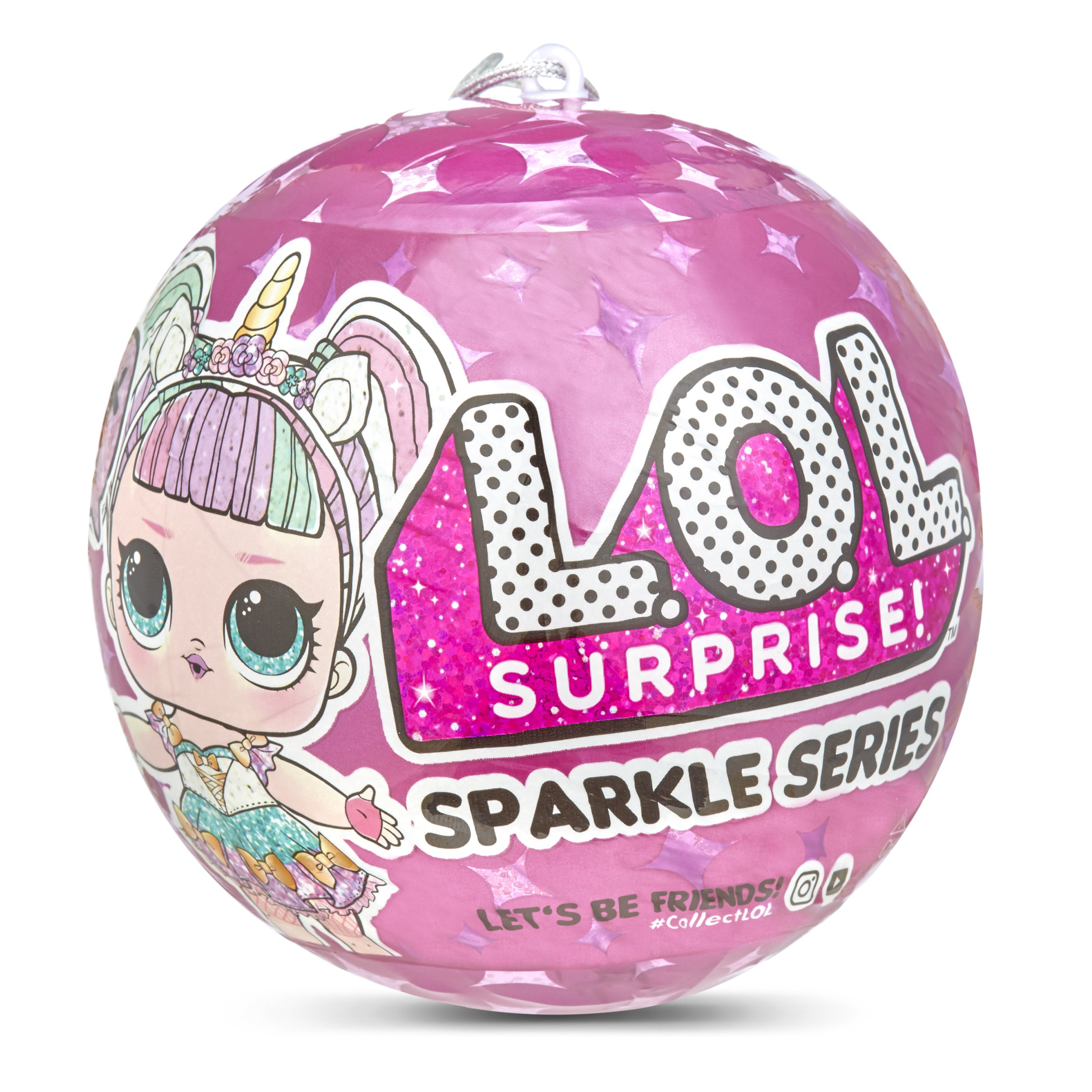 LOL L.O.L Surprise GLITTER SERIES FRESH G-004 NEW JUST OPENED TO REVIEL