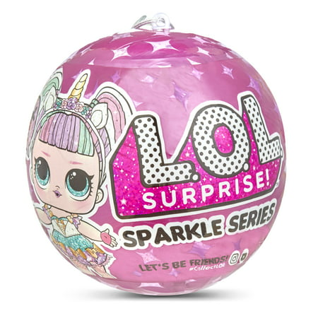 L.O.L. Surprise! Sparkle Series with Glitter Finish and 7 Surprises