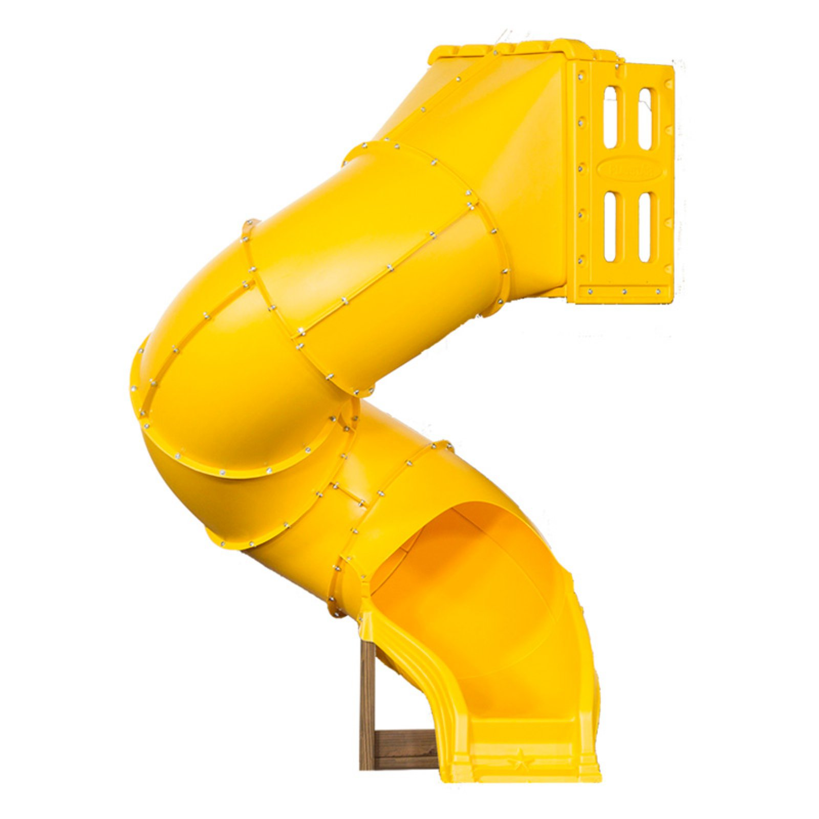 "PlayStar Spiral Tube Slide for 4' and 5"" High Play Decks"