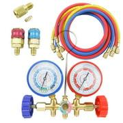 Best Car Diagnostic Equipment - 5FT AC Diagnostic Manifold Freon Gauge Set Review