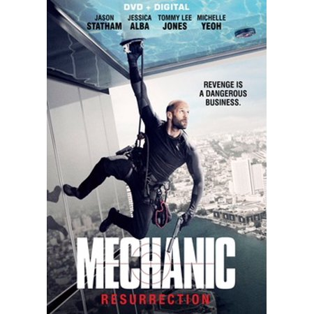 Mechanic: Resurrection (DVD) - Halloween Resurrection 2017 Full Movie