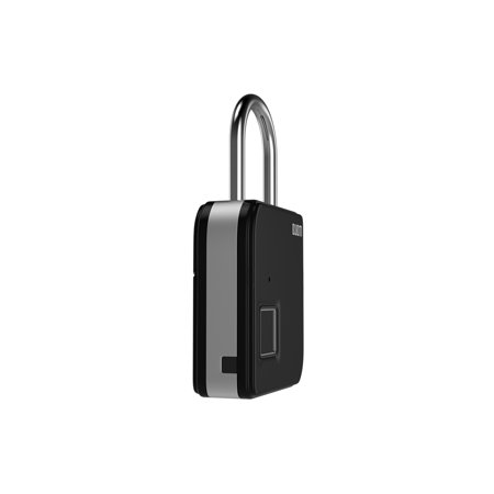 BUBM Smart Fingerprint Padlock Portable Intelligent Lock with 10 Fingerprint Recordings IP65 Waterproof USB Rechargeable Luggage and Travel Use - image 4 of 7