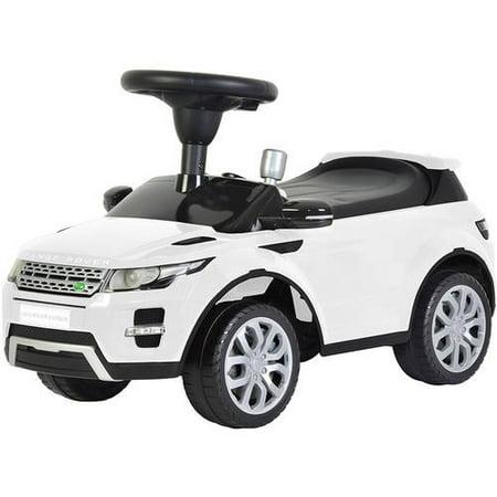 Land Rover Range Rover Evoque Ride On With Sound  White