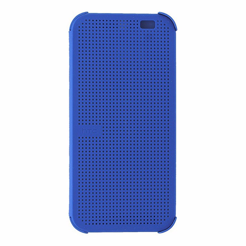 HTC Dot View Case for HTC One M8 Blue *99H11468-00
